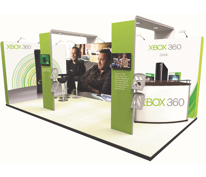 Corner Exhibition Stands Xbox : Exhibition stands uk design build portable trade show stands