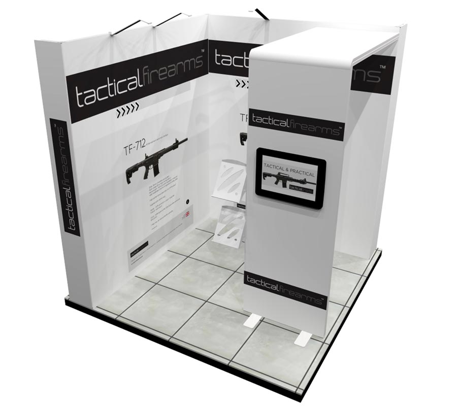 Modular Exhibition Stands Xbox : L shape & u shape exhibition stands