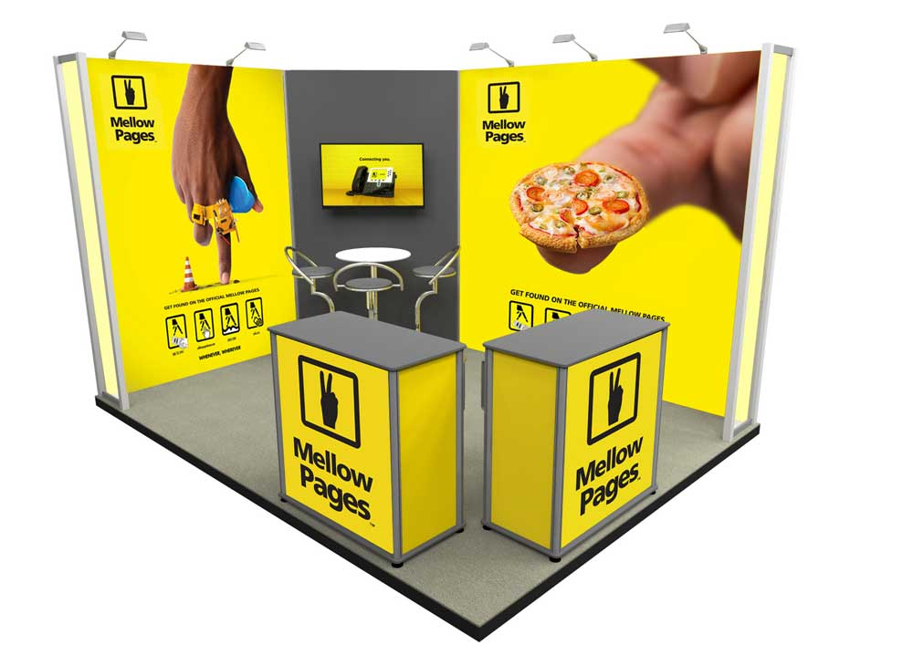 Small Exhibition Stand Vector : L shape u shape exhibition stands