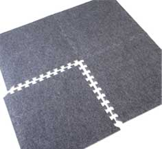 Grey Exhibition Carpet Tiles